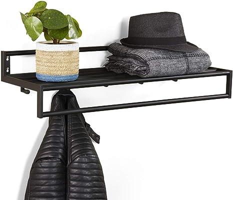 Wandgarderobe Garderobenleiste Garderobe Metall Jackenhalter Jackengarderobe