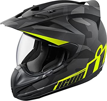 Icon Variant - Casco de moto, color negro