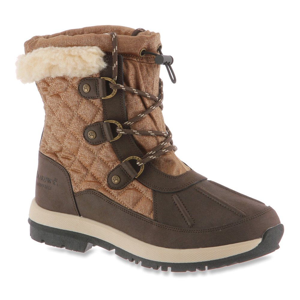 BEARPAW Women's Bethany B00TE1UOWA 7 B(M) US|Chocolate/Bronze