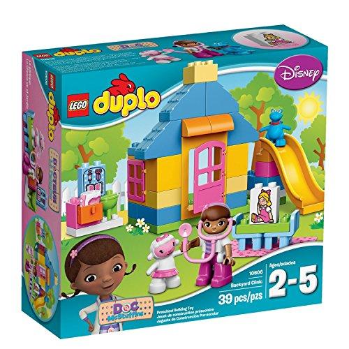 LEGO-DUPLO-Brand-Disney-10606-Doc-McStuffins-Backyard-Clinic-Building-Kit