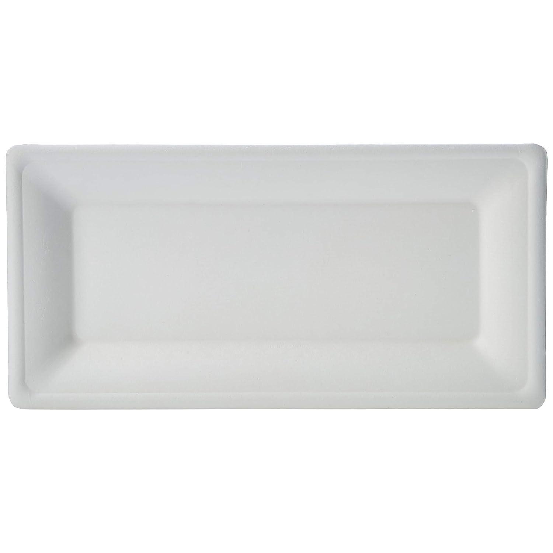 AmazonBasics Compostable Plates, 10