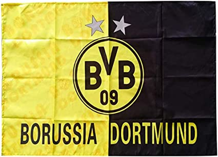 Amazon Com Football Club Flags Soccer Logo Banner Flag Indoor And Outdoor Flags Bar Party Decoration Flag Borussia Dortmund 37 4 25 6in Health Personal Care