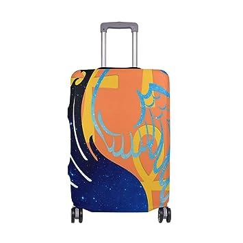 Amazon.com: Abstracto Yin Yang alas maleta Protector ...