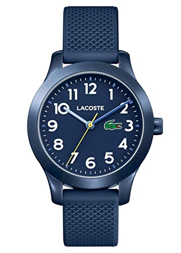 f4ebcc28e982 Lacoste Unisex-Kids Analogue Classic Quartz Watch with Silicone Strap  2030002  Amazon.co.uk  Watches