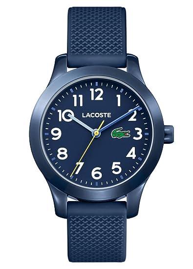 b2407132f991 Lacoste Reloj Análogo clásico para Niños de Cuarzo con Correa en Silicona  2030002  Amazon.es  Relojes