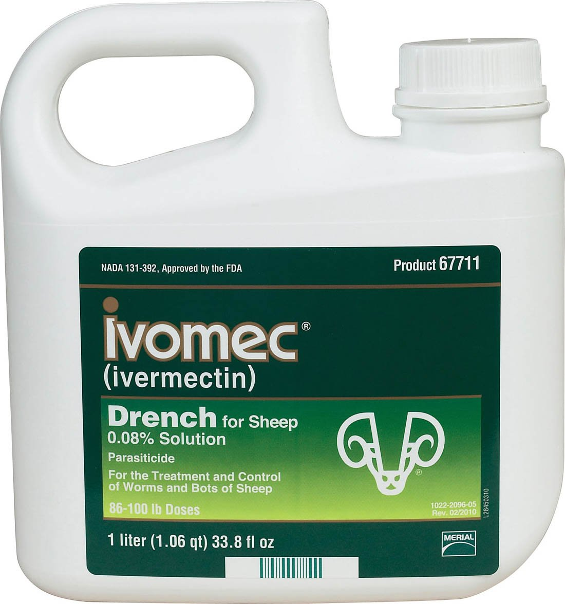 Merial 140921 Ivomec Parasiticide Drench for Sheep, 1 Liter by Merial