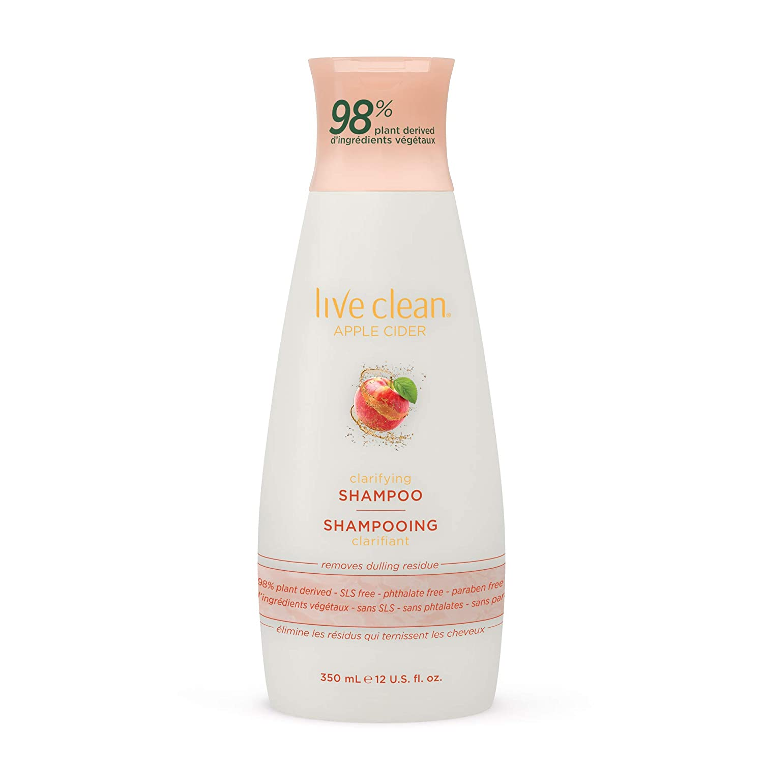 Live Clean Apple Cider Detox Shampoo, 12 Oz