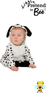 Baby Onesie Little dalmation Dressing up Costume for ages 6-12 months  sc 1 st  Amazon UK & Baby Boys or Girls Kids Dalmatian Dalmation Fancy Dress Halloween ...