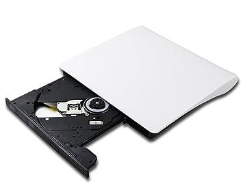 f107e1f5409da8 Ultra Slim 8X DVD Burner CD Player Portable External USB 3.0 Optical Drive  for HP Chromebook