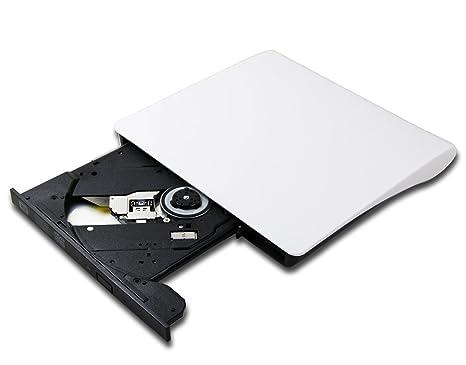 Amazon com: Ultra Slim Dual Layer 8X DVD Burner Player External USB