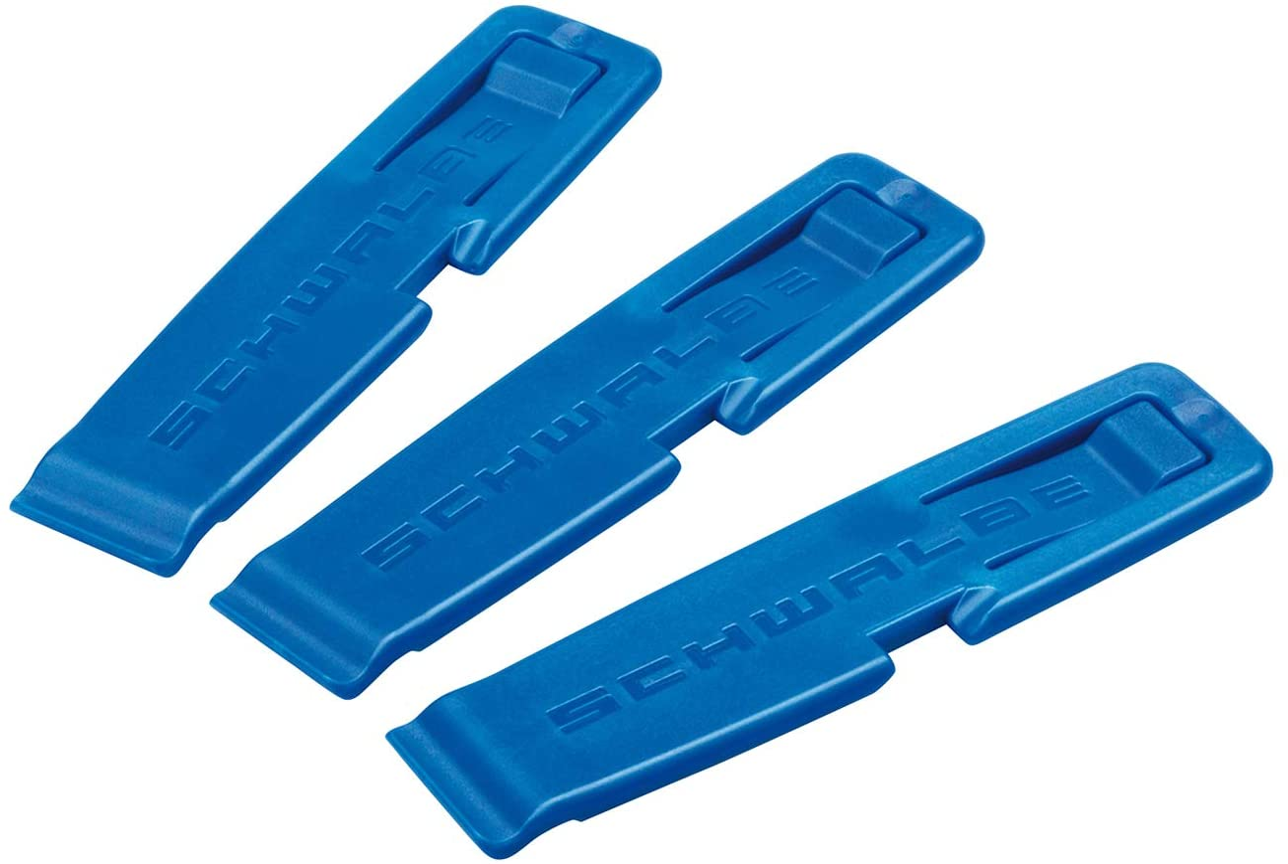 Schwalbe 1847 - Palancas de neumáticos para bicicletas, color azul, pack con 3 unidades