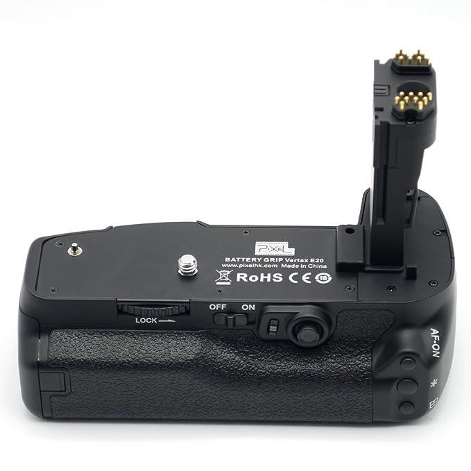 Pixel Vertax E20 empuñadura de batería para cámara réflex Canon 5d ...