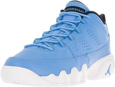 Nike Boys Air Jordan 9 Retro Low BG Pantone University BlueWhite Leather Size 5.5Y