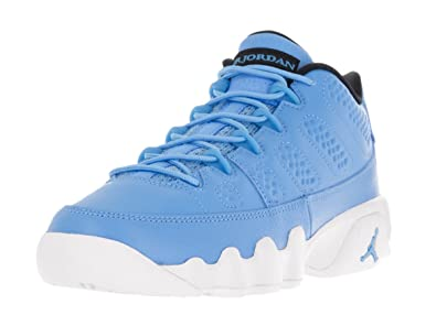 new arrival 6b918 6767d Nike Boys Air Jordan 9 Retro Low BG Pantone University Blue/White Leather  Size 5.5Y