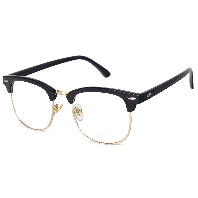 836f91d1dd5 Pro Acme (Pack of 2) Semi Rimless Polarized Clubmaster Sunglasses ...