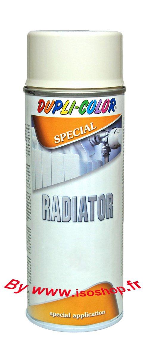 Pittura spray ad alta temperatura, per termosifoni, bianco opaco, confezione da 3, 400 ml Isoterm France