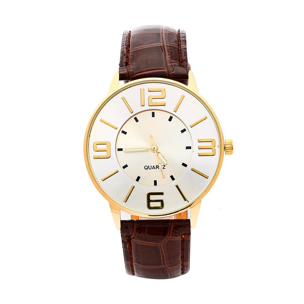 Amazon.com: Mens Womens Leather Quartz Watch Wholesale 8 Pack: yunanwa: Watches