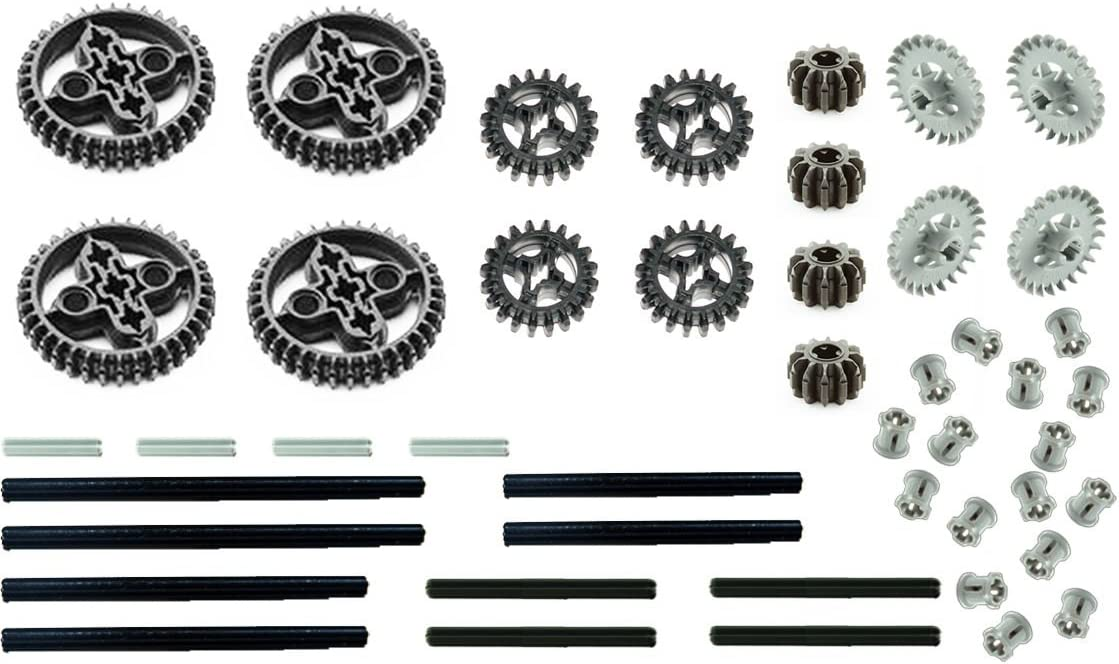 (USA Warehouse) LEGO 46pc gear axle SET Technic Mindstorm nxt motor power functions double bevel **ITEM#NO: 43E8E-UFE6 C2A1575