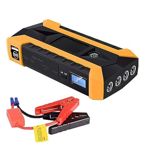 12V Car Jump Starter 89800mAh 4 USB LED Emergency Battery Booster Power