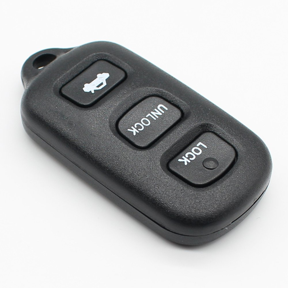4 Buttons Car Remote Key Shell Case Key Fob Cover for Toyota Avalon Lexus SC400 ES300 LS400 SC300