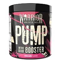 Warrior Pump Pre Workout Extreme Nitric Oxide Booster 30 Servings (Bubblegum)