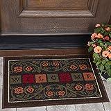 Ottomanson Ottohome Collection Rectangular Welcome Doormat (Machine-Washable/Non-Slip), Multicolor, 20' X 30'