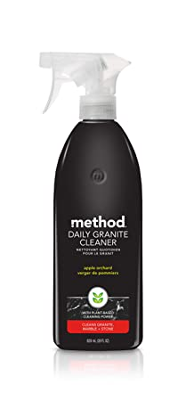 Method Daily Granite Cleaner Spray, Apple Orchard, 28 Ounce best natural kitchen cleaning products