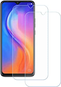 """FZZ (2-Pack) Screen Protector for Tecno Spark 5 Air, Anti Scratch 9H Hardness Protective Film Premium HD Clarity Tempered Glass Friendly Designed for Tecno Spark 5 Air (7.0"""")"""