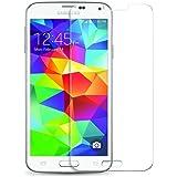 2x Panzerglas Glasfolie Samsung Galaxy S5 Echt Glas Schutzfolie Klar Echt Glas Schutzfolie - 9H Hartglas Vada-Tec