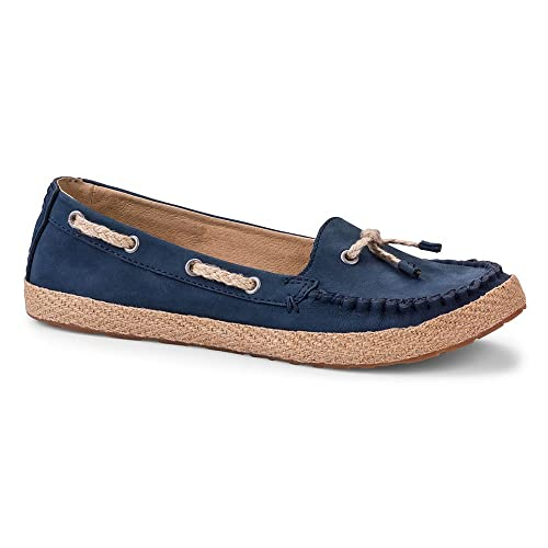 Ugg Australia Women's Chivon Tassel Pumps Moccasin Shoes Navy ...