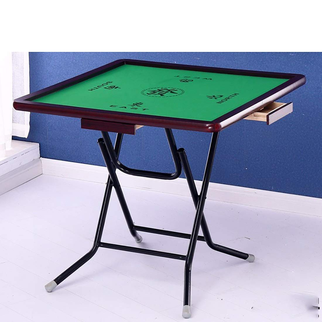 85cm walnut wood side 1 NuoEn Mahjong Table,Poker, Card Games, Board Games, Tile Games,Dominoes,Poker Table Wooden