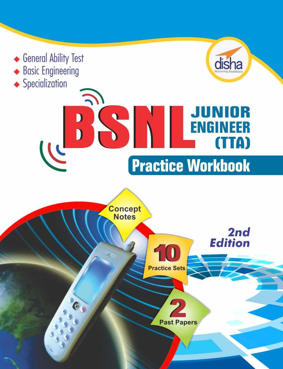 Buy BSNL Junior Engineer (TTA) Exam Guide + Practice Workbook (Concept Notes  + 2 Solved + 10 Practice Sets) Book Online at Low Prices in India | BSNL  Junior ...