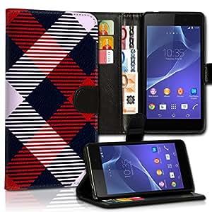 Wallet Wicostar-Funda Case Funda Carcasa diseño Funda para Samsung Galaxy S7SM-G930-Diseño Flip mvd104
