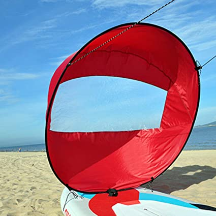 Wind Accessories Boat Sail Rowing Kayak Safe Canoe Foldable Clear Window Sailing