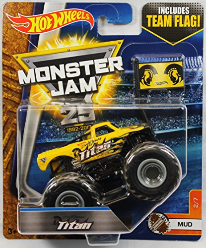 yellow monster truck - 6