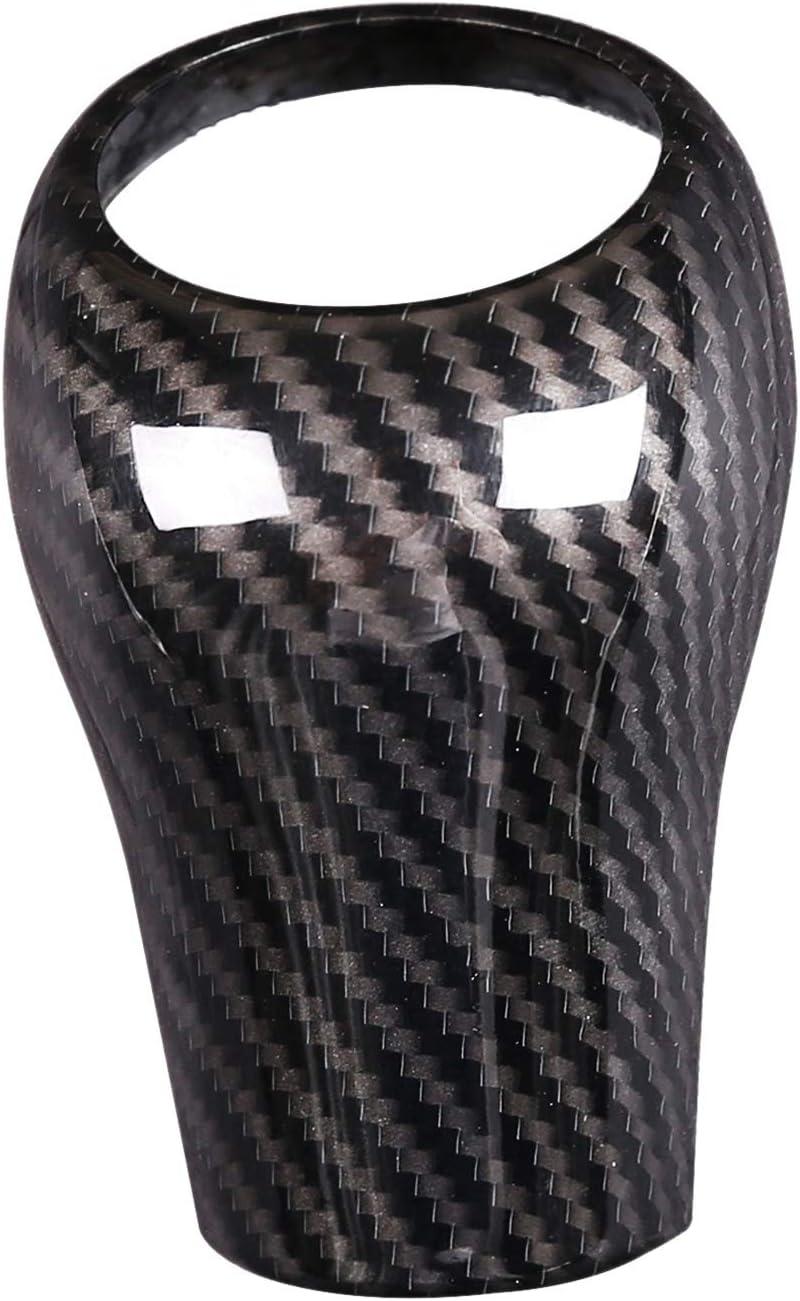 Basage Carbon Fiber Gear Shift Knob Cover for Mercedes W204 W212 C E G GLS Class