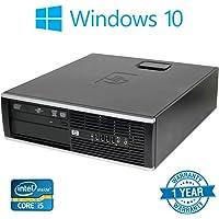 Windows 10 Pro, HP 8200 Elite SFF, Desktop PC Computer, 8GB Ddr3 RAM, 256GB SSD Hard Drive (Certified Refurbished)