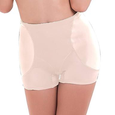 95e3831f138 Defitshape Women s Hip Enhancer Shapewear Panty Padded Butt Lifter Seamless  Shaper Panties at Amazon Women s Clothing store