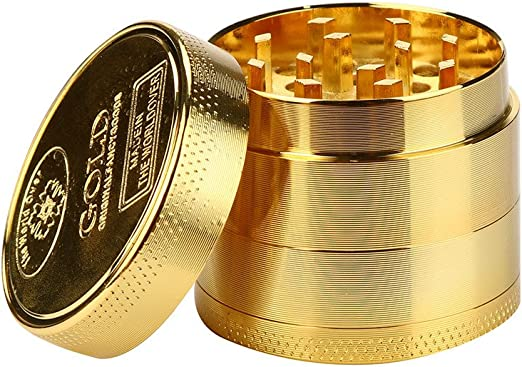 "1.5/"" Tobacco Herb Grinder Spice Herbal Zinc Alloy Smoke Crusher 4 Pieces Metal"