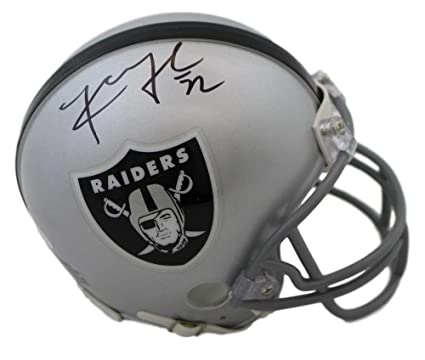 new concept a7adf 50f4b Amazon.com: Khalil Mack Autographed/Signed Oakland Raiders ...