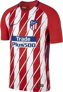 NIKE - Camiseta de Hombre 1ª equipación atlético de Madrid 2017-2018 Vapor Match: Amazon.es: Deportes y aire libre