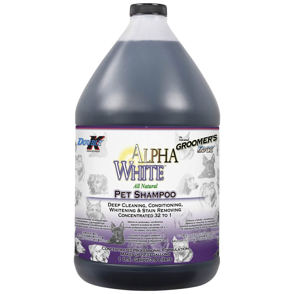Groomers Edge Alpha White Shampoo, 1 Gallon by Groomers Edge