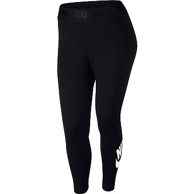 a888e7f125 NIKE Sportswear Leg-A-See Women's Leggings Black/White ah2854-010 at ...