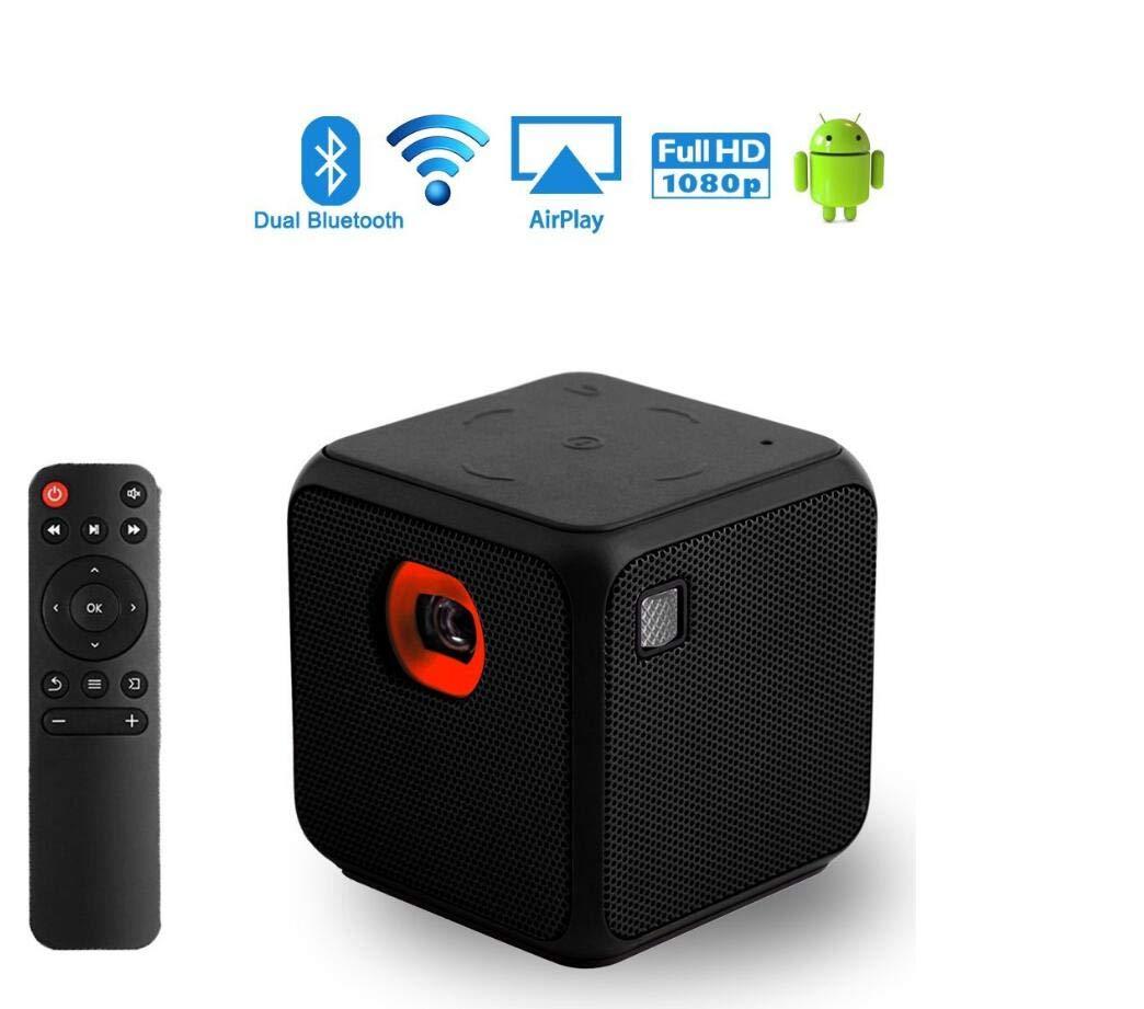 Cubo Mini Proyector DLP Proyector de mano Android Teatro en casa ...