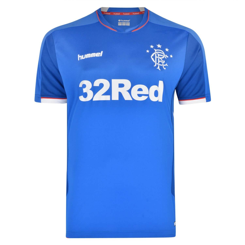 best loved 2df78 b66ad Amazon.com: Hummel Sport Hummel Glasgow Rangers Away Jersey ...