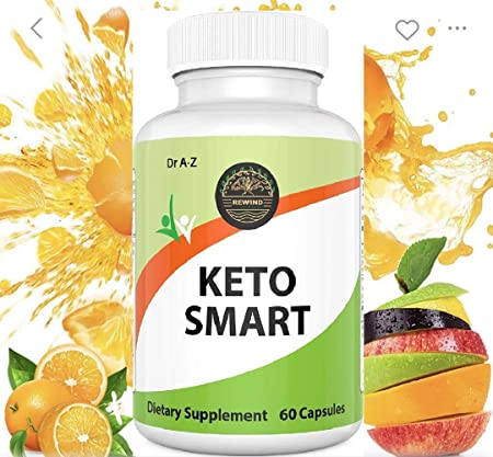 Smart Keto Slim, Nature's Pure Keto Diet Pills - Ketosis Supplement to Burn Fat Fast - Ketogenic Carb Blocker - Best Keto Diet Pills for Women and Men - Helps Boost Energy & Metabolism