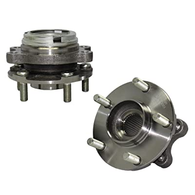 Detroit Axle 513296 - Both Front Wheel Hub & Bearing Assembly for Nissan Altima Maxima Quest Pathfinder Murano - Infiniti JX35 QX60: Automotive