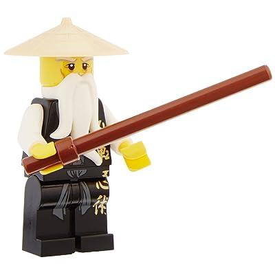 Lego Sensei Wu Black Outfit Dx: Toys & Games