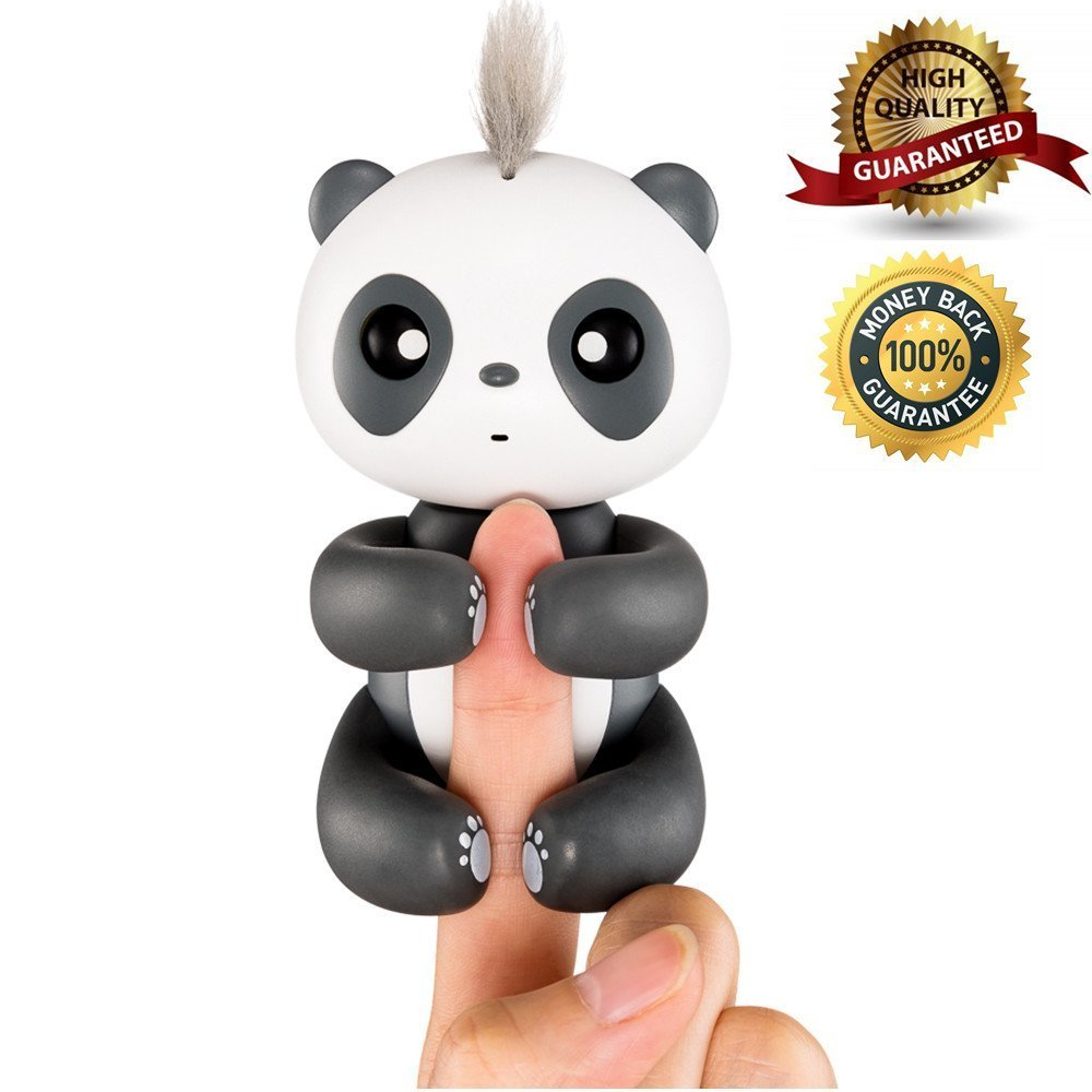 Luerpci Panda Toy,Smart Interactive Electronic Panda Kids Baby,Gifts Boys Girls (Black) …