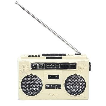 Amazon De Rongduosi Retro Vintage Radio Dekoration Kreative